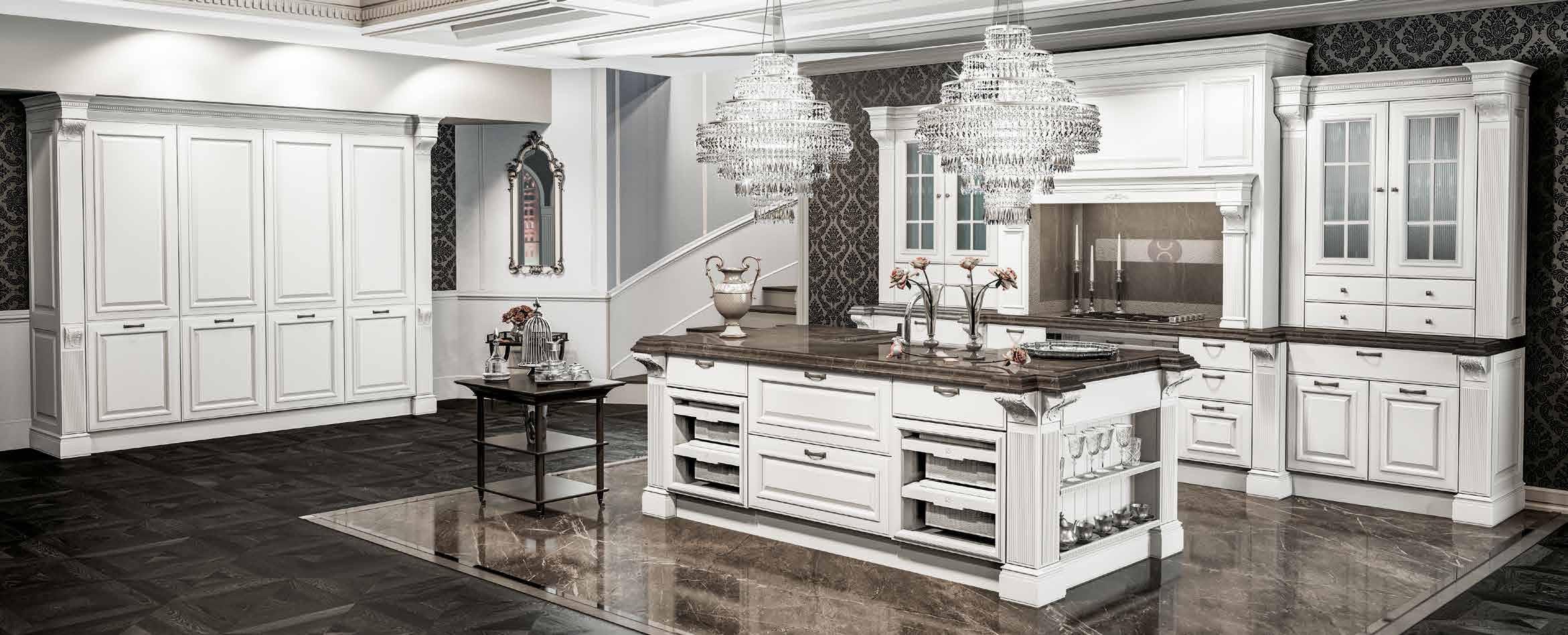 Moderne Traditionelle Designer Kuche Berloni