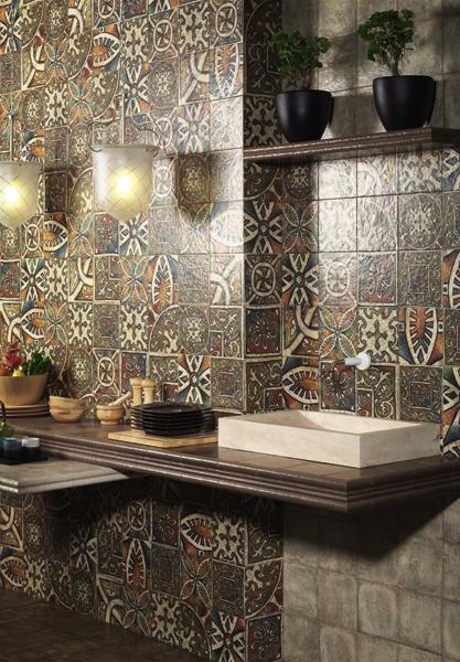 Декор испанская плитка